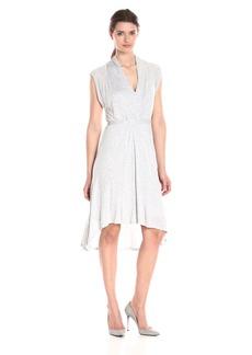 Kensie Women's Sheer Viscos Dress