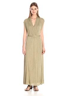 Kensie Women's Sheer Viscose Maxi Dress