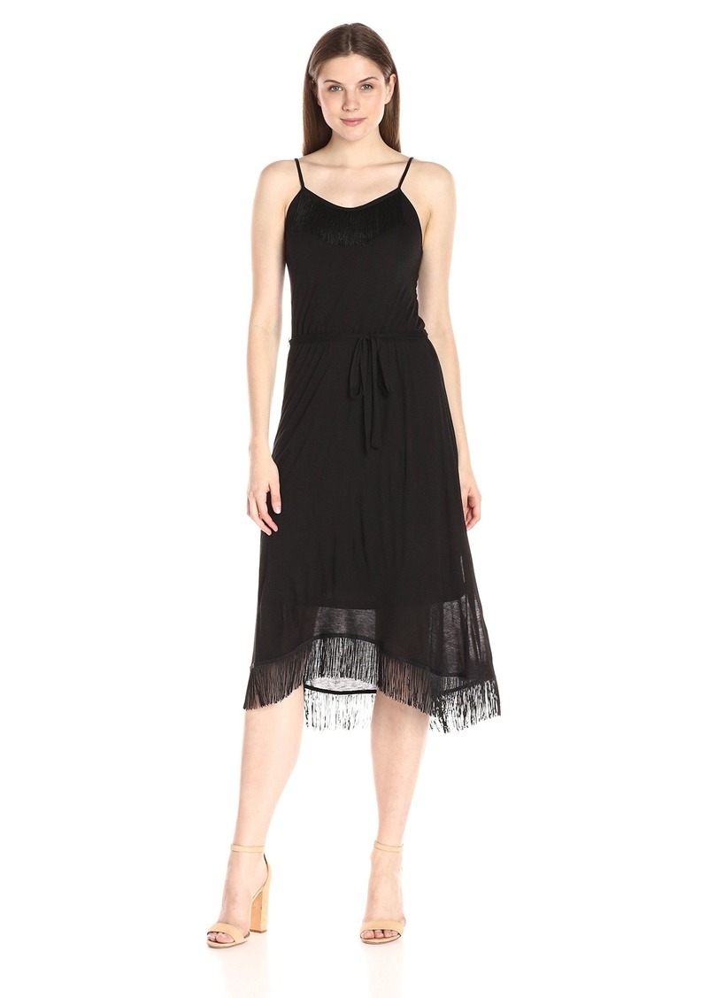 Kensie Women's Sheer Viscose T-Shirt Dress