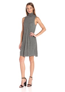 Kensie Women's Sheer Viscose Tee Dress