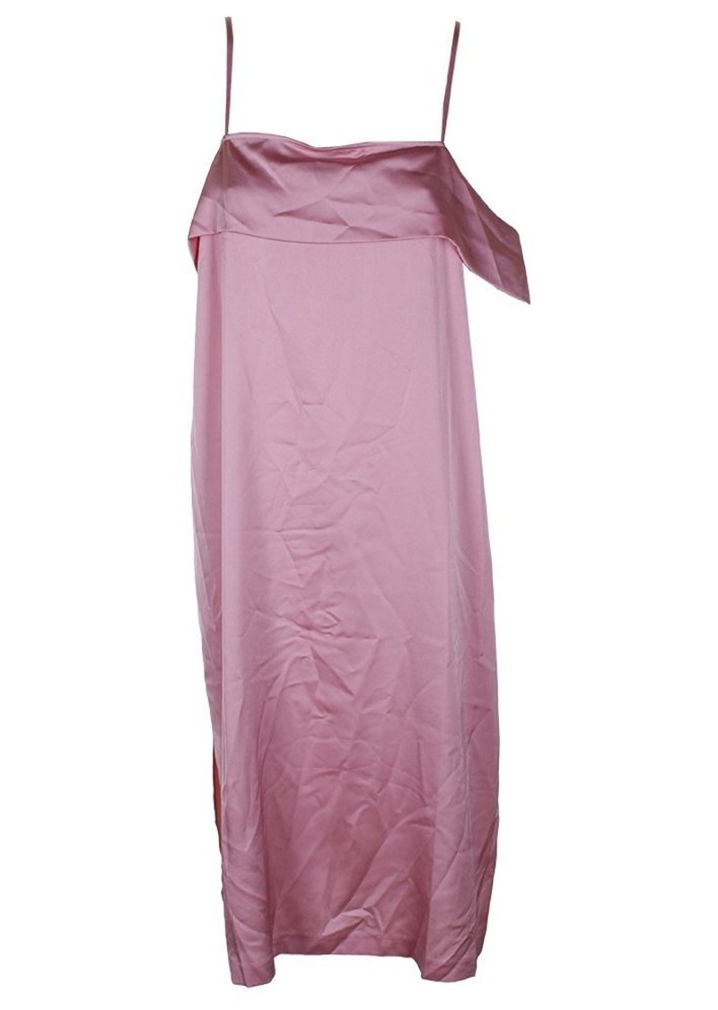 kensie Women's Shiny Polyester Dress  L