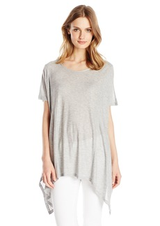 Kensie Women's Shiny Rayon Jersey Top  X-Small/Small