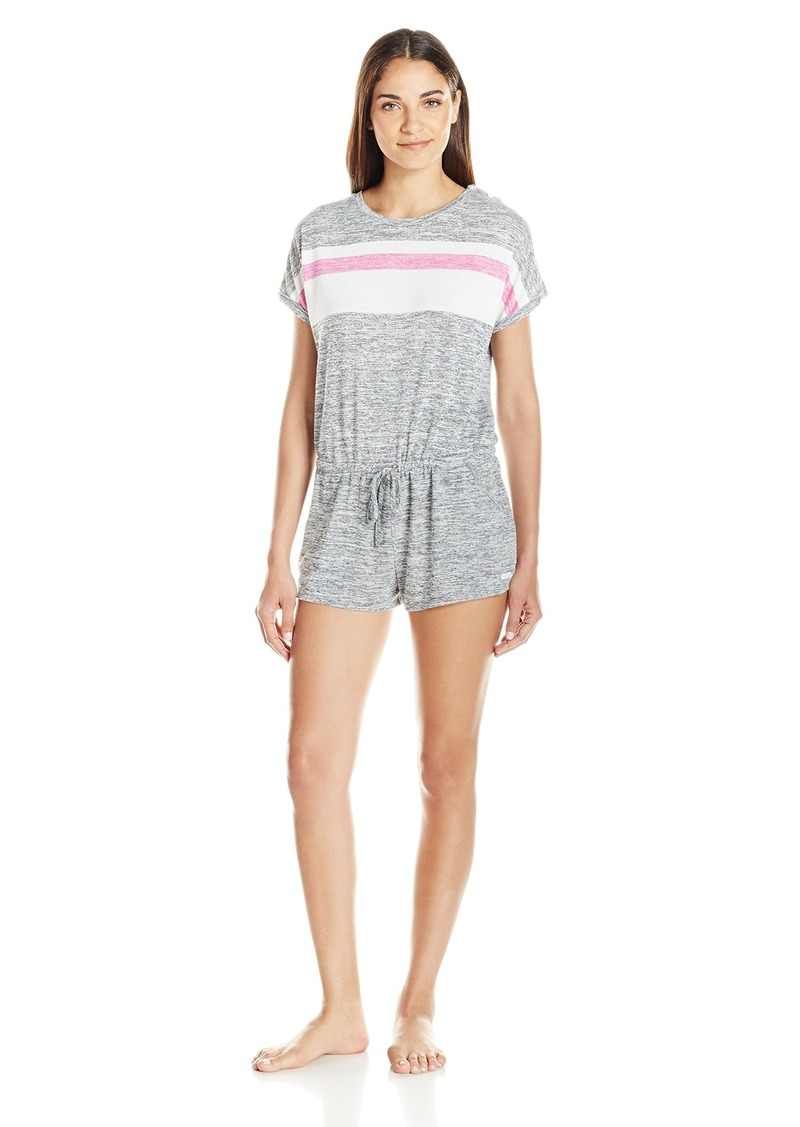 kensie Women's Short Sleeve Romper  S