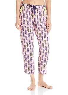 Kensie Women's Sleep Lounge Capri Pant