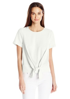 kensie Women's Smooth Stretch Cepe Top  XS