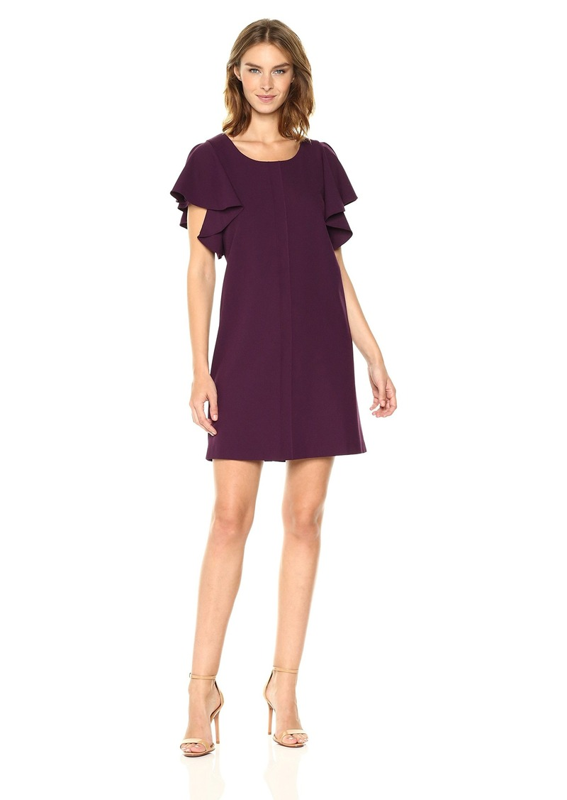kensie Women's Smooth Stretch Crepe Dress  S