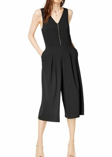 kensie Women's Smooth Stretch Crepe Jumpsuit