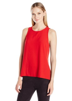 Kensie Women's Smooth Stretch Crepe Top
