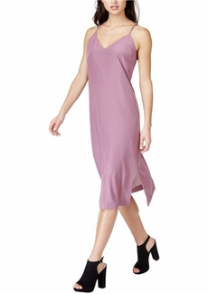 kensie Women's Soft Crepe V Neck Cami Dress  XL