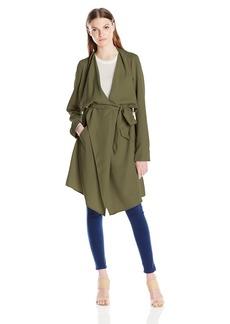 kensie Women's Soft Trench Coat