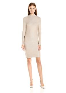 Kensie Women's Soft Viscose Blend Long Sleeve Sweater Dress  L