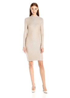 Kensie Women's Soft Viscose Blend Long Sleeve Sweater Dress  S