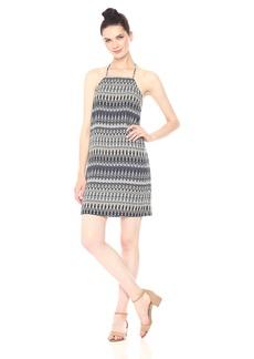 kensie Women's Sound Waves Printed Cami Dress tusk Combo XS