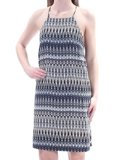 kensie Women's Sound Waves Printed Cami Dress tusk Combo XS