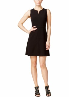 kensie Women's Stetch Cepe Dress  M