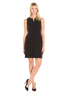 Kensie Women's Stetch Cepe Dress  S
