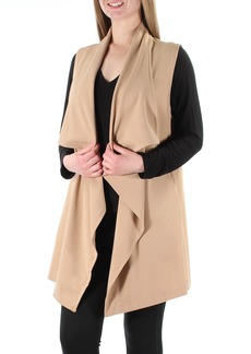 kensie Women's Stetch Crepe Vest  S