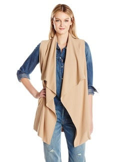 kensie Women's Stetch Crepe Vest  XL