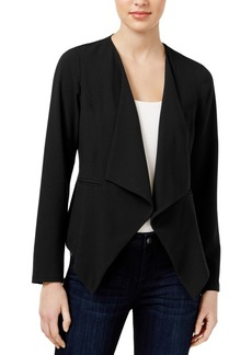 kensie Women's Stretch Crepe Blazer  S