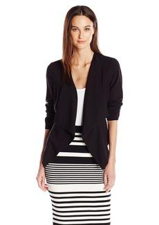 Kensie Women's Stretch Crepe Blazer  XL