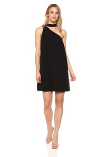 kensie Women's Stretch Crepe Dress  L