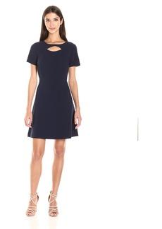 kensie Women's Stretch Crepe Dress  XS