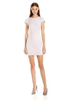 Kensie Women's Stretch Suede Dress  XL