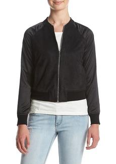 kensie Women's Stretch Suede Jacket  XS