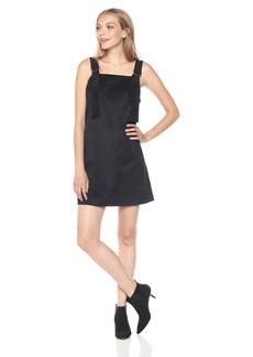 kensie Women's Stretch Suede Pinup Dress  S