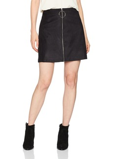 kensie Women's Stretch Suede Skirt  XS