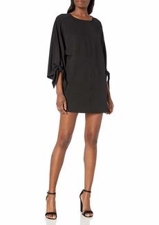 kensie Women's Stretchy Crepe Tees Dress  S