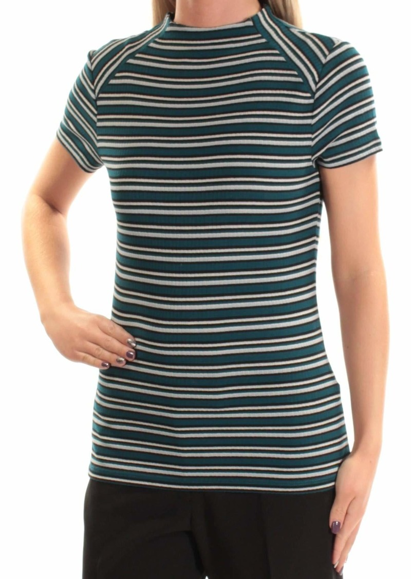 kensie Women's Striped Rib Top  M