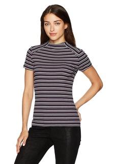 kensie Women's Striped Rib Top  XL