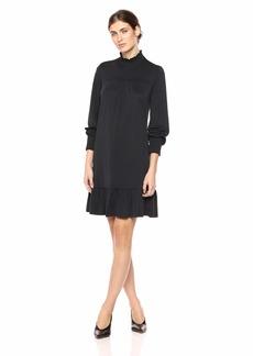 kensie Women's Sueded Jersey Knit Dress  S