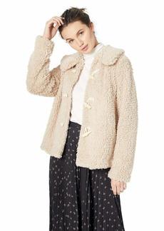 kensie Women's Teddy Fur Jacket  M