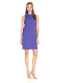 kensie Women's Textured Dot Dress  L