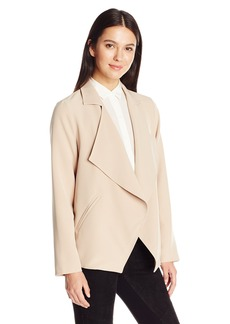 Kensie Women's Thick Stretch Twill Jacket