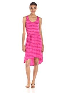 kensie Women's Tie Dye Cross Back Dress