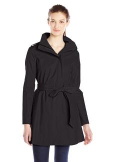 kensie Women's Tie Waist Trench Coat