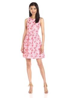 Kensie Women's Tropical Brocade Dress