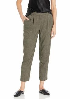 kensie Women's Tweed Plaid Pant