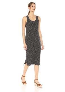 kensie Women's Two Tone Rib Knit Maxi Dress  XS