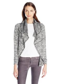 Kensie Women's Two Toned Slub Jacket