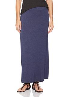 kensie Women's Visoce Spandex Maxi Skirt  S