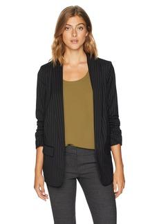 kensie Women's Wallstreet Stripe Blazer  XS