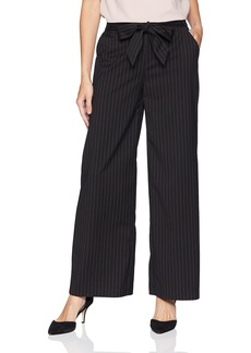 kensie Women's Wallstreet Stripe Mixi Pant  XL