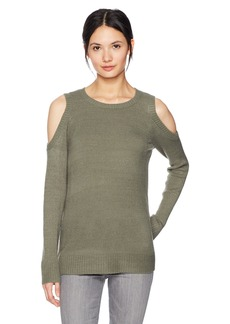 Kensie Women's Warm Touch Cold Shoulder Sweater  M