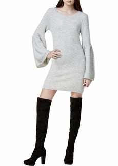 kensie Women's Warm Touch Sweater Dress with Bell Sleeve  XL