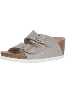 kensie Women's Wenda Wedge Sandal