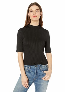 kensie Women's Wide Rib Top